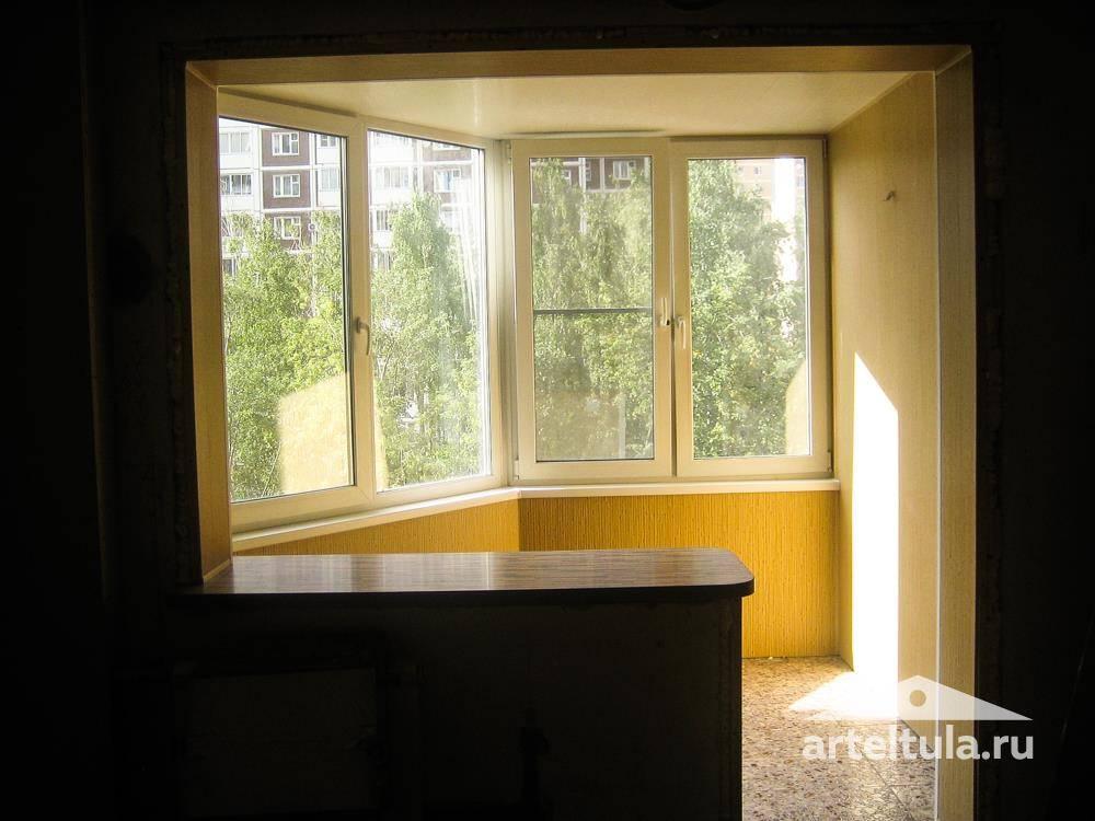 Заказать объединение лоджии с квартирой в туле - строительна.
